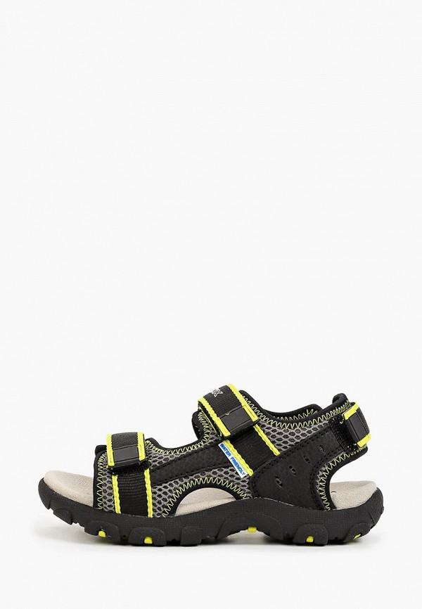сандалии geox для мальчика, черные