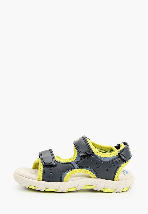 сандалии geox для мальчика, синие
