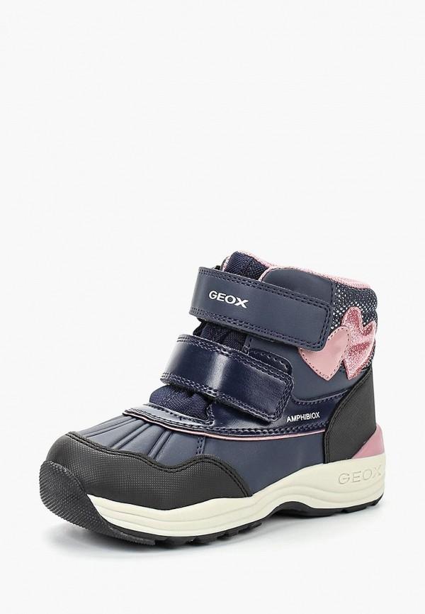 Купить Ботинки Geox, ge347agbydc7, синий, Осень-зима 2018/2019