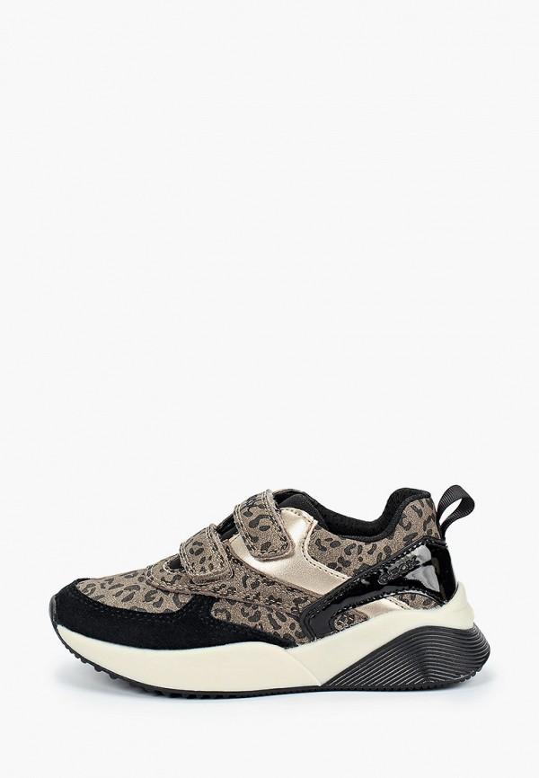 кроссовки geox для девочки, коричневые