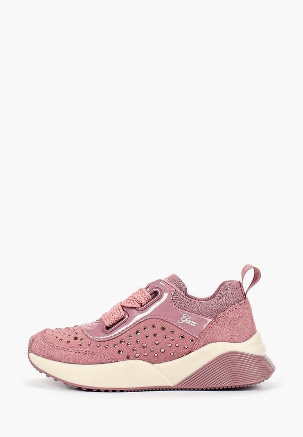 кроссовки geox для девочки, розовые