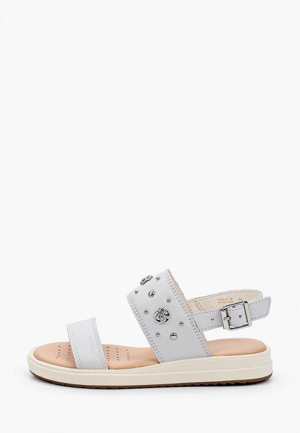 сандалии geox для девочки, серые