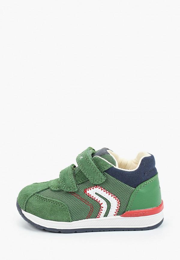 кроссовки geox малыши, зеленые