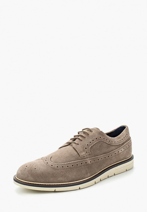 мужские туфли geox, бежевые
