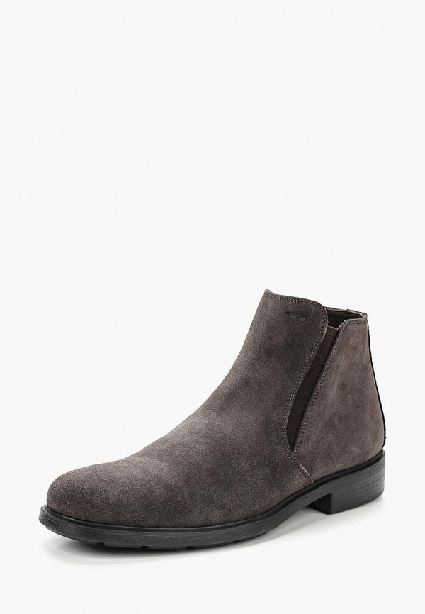 мужские ботинки geox, бежевые