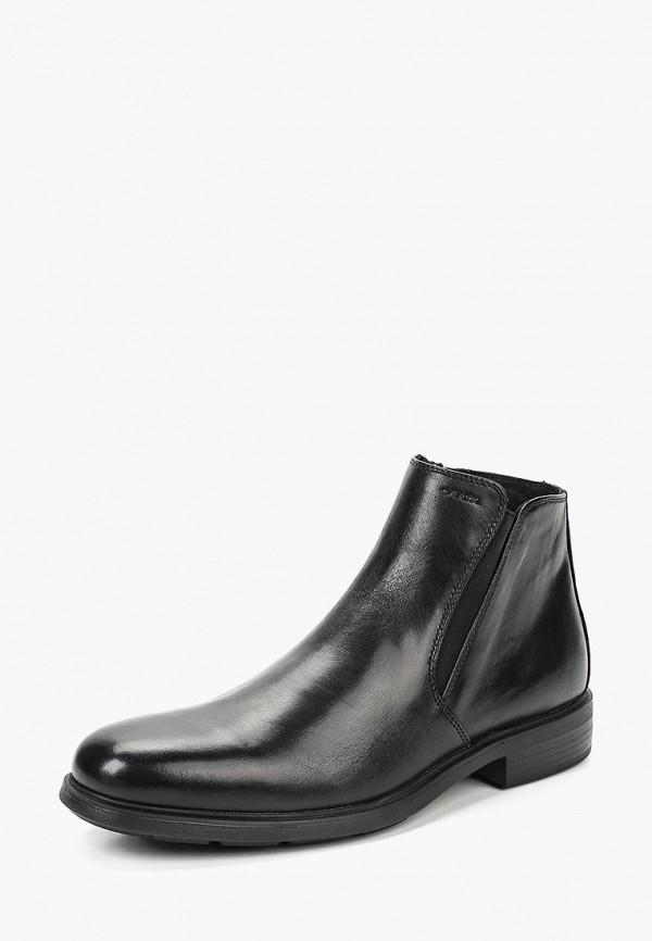 Купить Ботинки Geox, ge347amcbra2, черный, Осень-зима 2018/2019