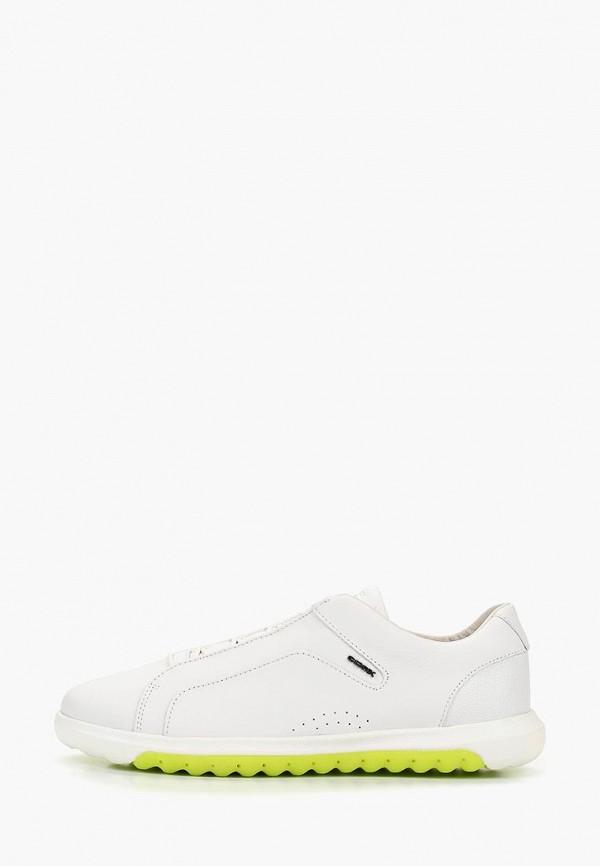мужские кроссовки geox, белые