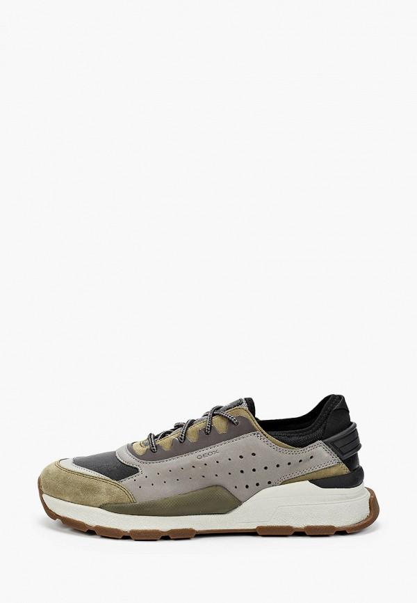мужские кроссовки geox, разноцветные