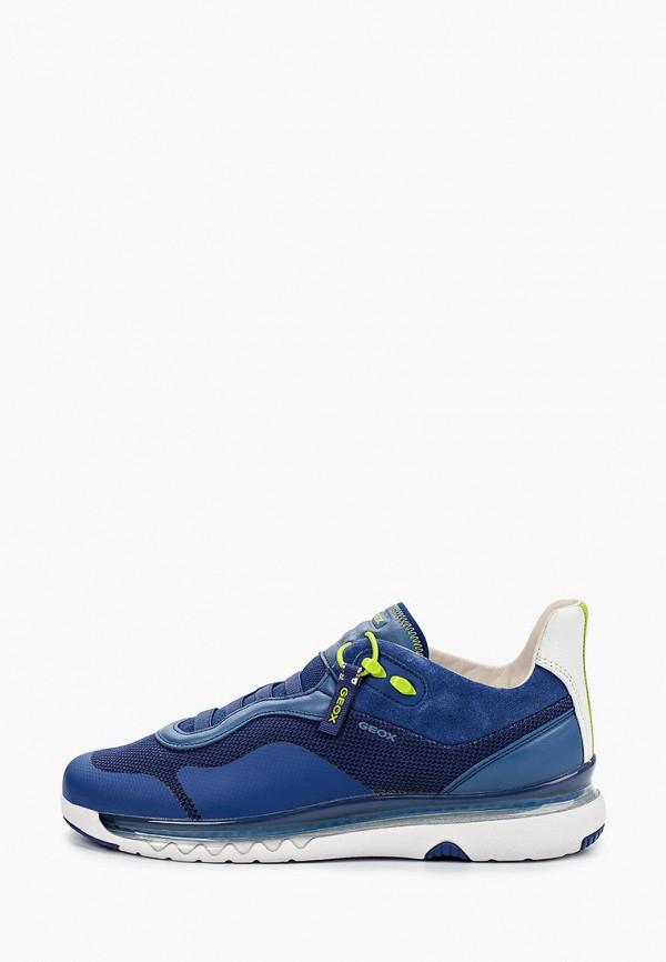 мужские низкие кроссовки geox, синие