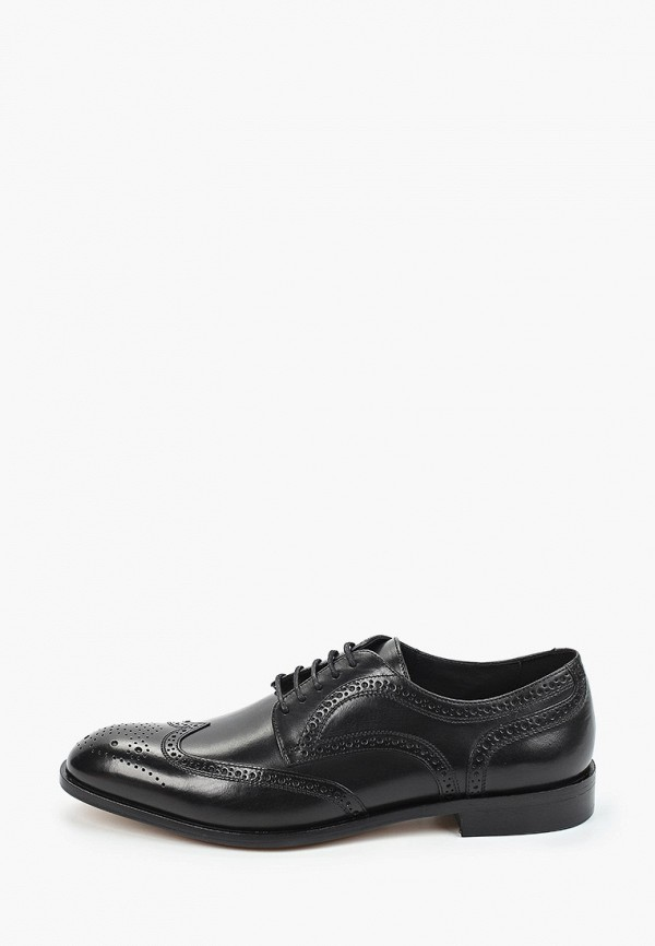 мужские туфли-дерби geox, черные