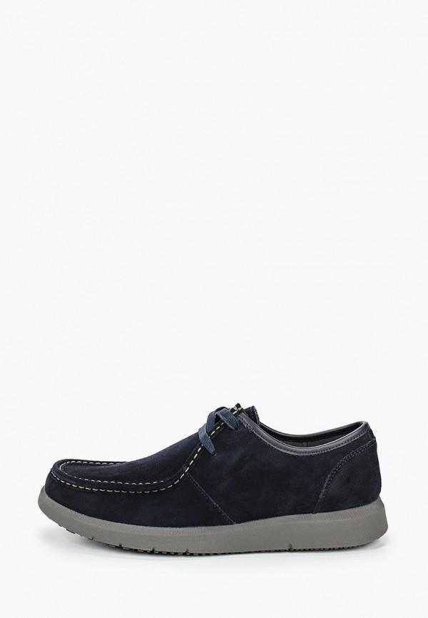 мужские ботинки geox, синие