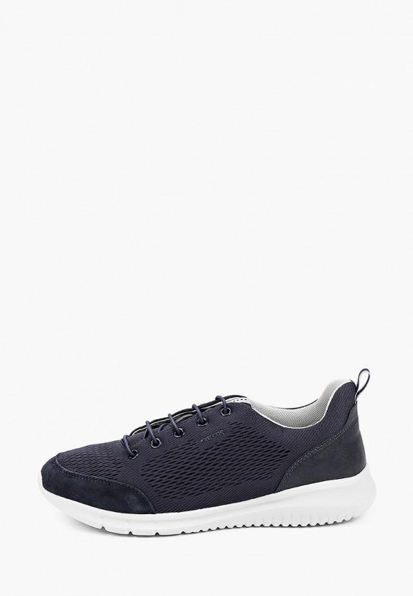 мужские низкие кроссовки geox, черные