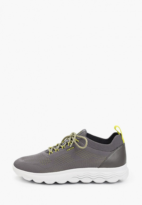 мужские низкие кроссовки geox, серые