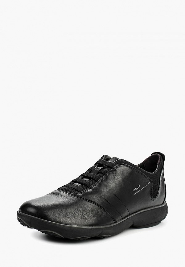 мужские кроссовки geox, черные
