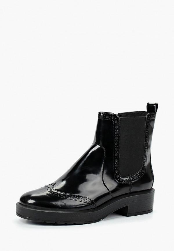 Купить Ботинки Geox, ge347awbwso5, черный, Осень-зима 2018/2019