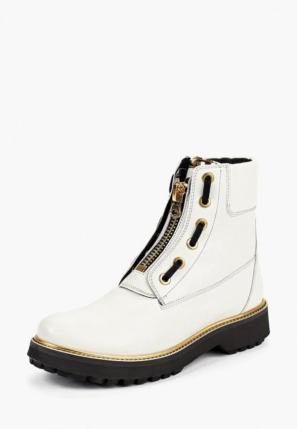 Купить Ботинки Geox, ge347awbwsq6, белый, Осень-зима 2018/2019