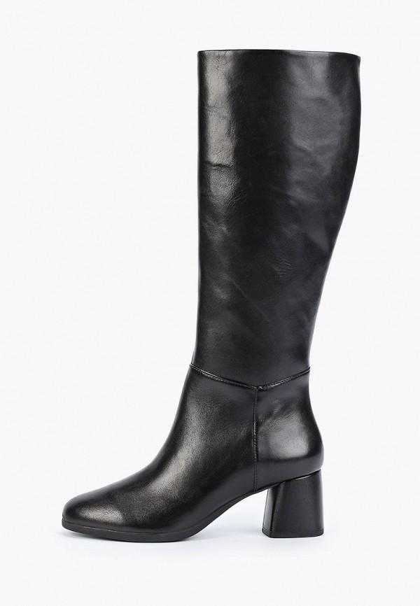 женские сапоги geox, черные