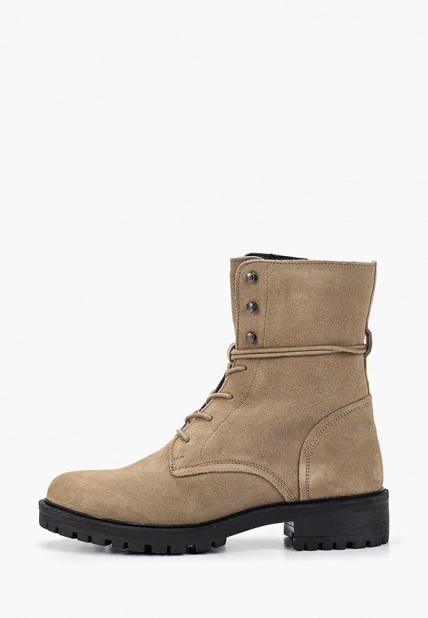 женские ботинки geox, коричневые