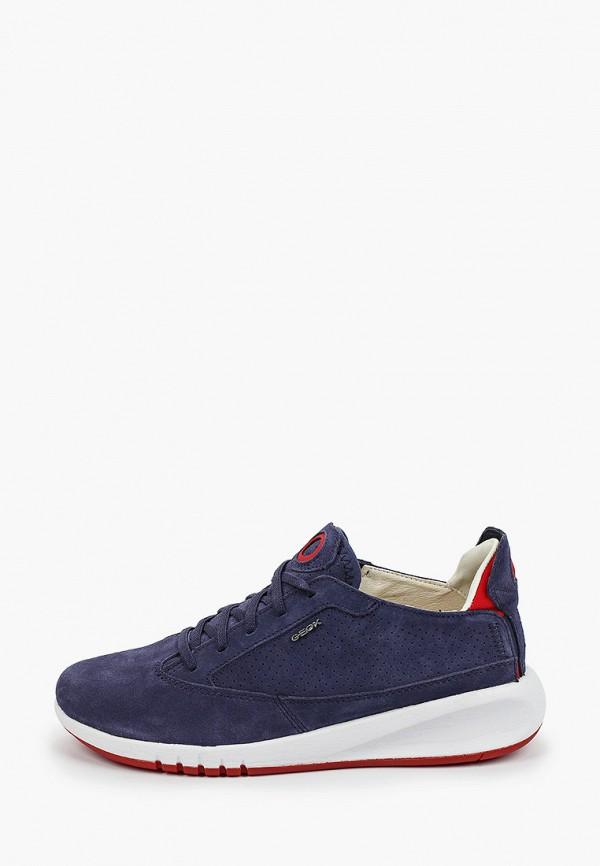 женские кроссовки geox, синие