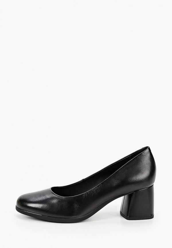 женские туфли geox, черные