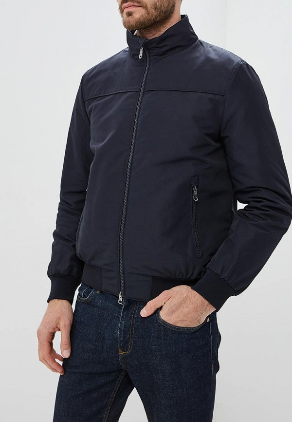 Куртка утепленная Geox, GE347EMBWST3, синий, Осень-зима 2018/2019  - купить со скидкой