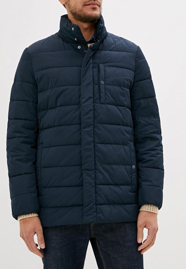 мужская куртка geox, синяя