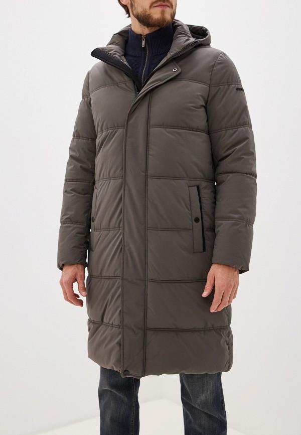 мужская утепленные куртка geox, серая
