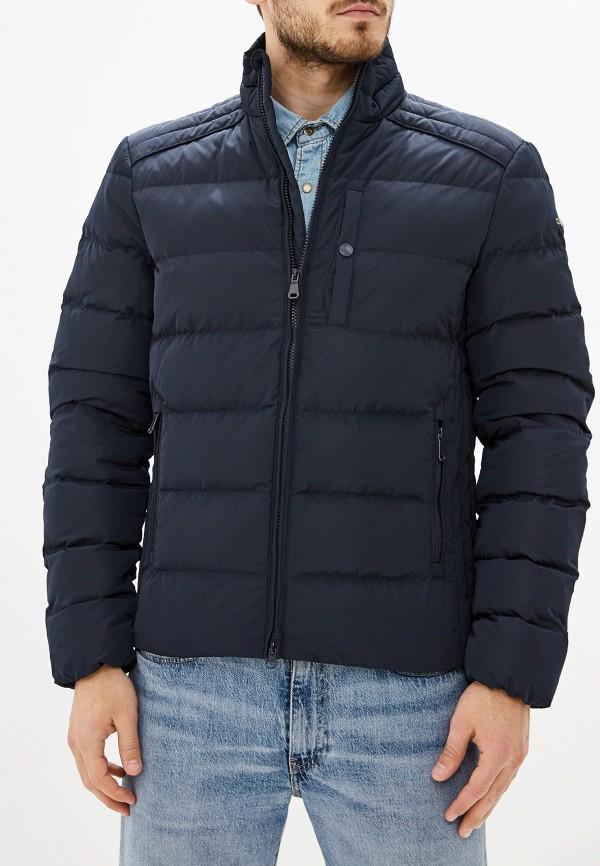 мужская куртка geox, серебряная