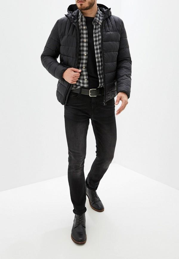 Фото 2 - Куртку утепленная Geox черного цвета
