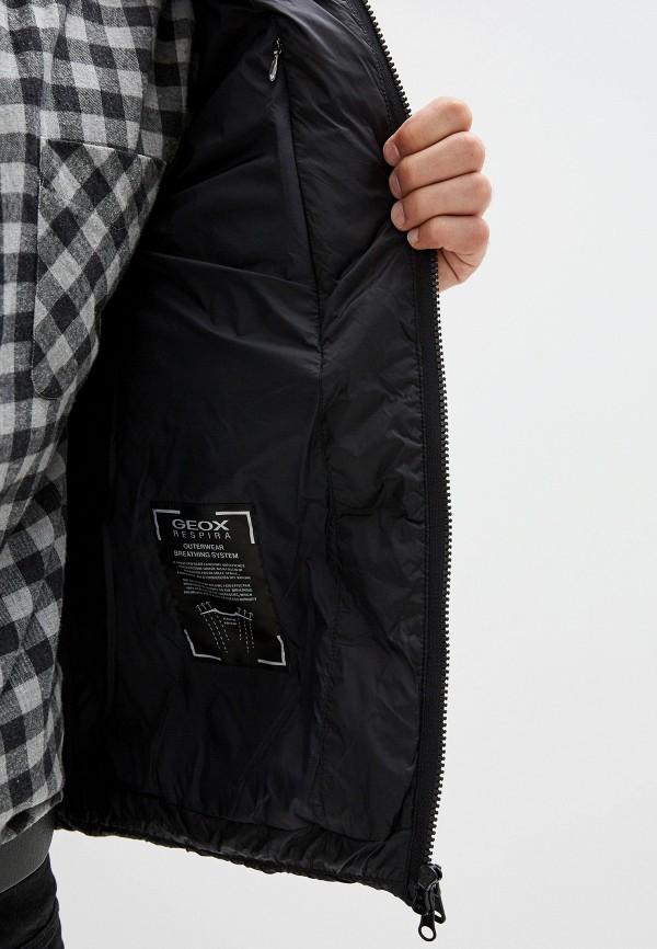 Фото 4 - Куртку утепленная Geox черного цвета