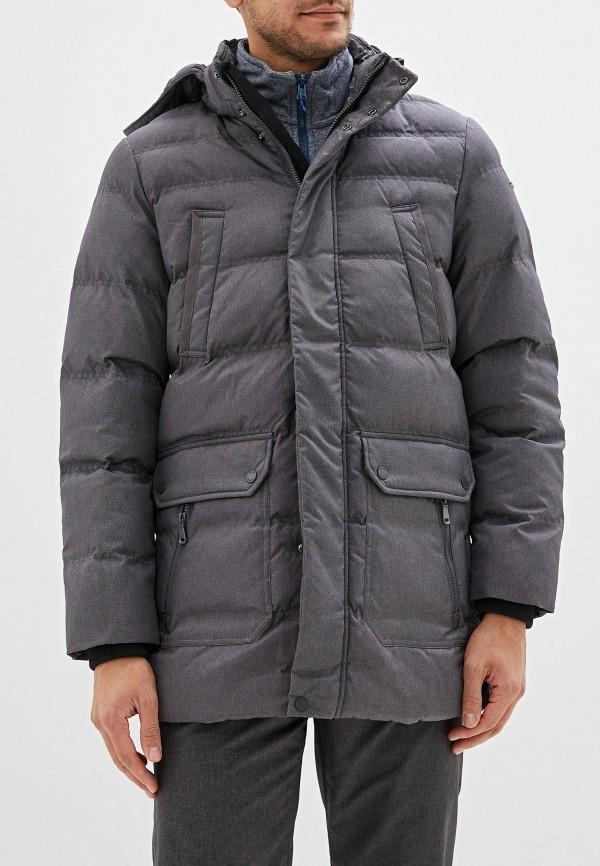 мужская куртка geox, серая