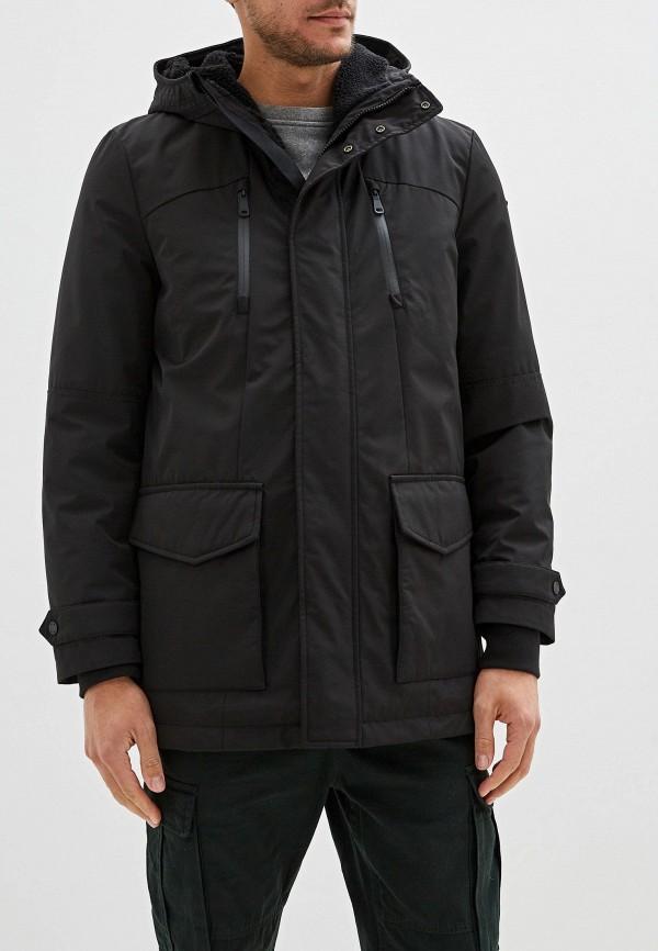 мужская куртка geox, черная
