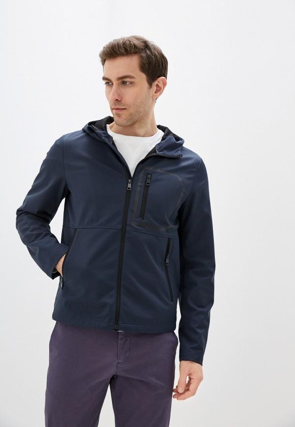 мужская легкие куртка geox, синяя
