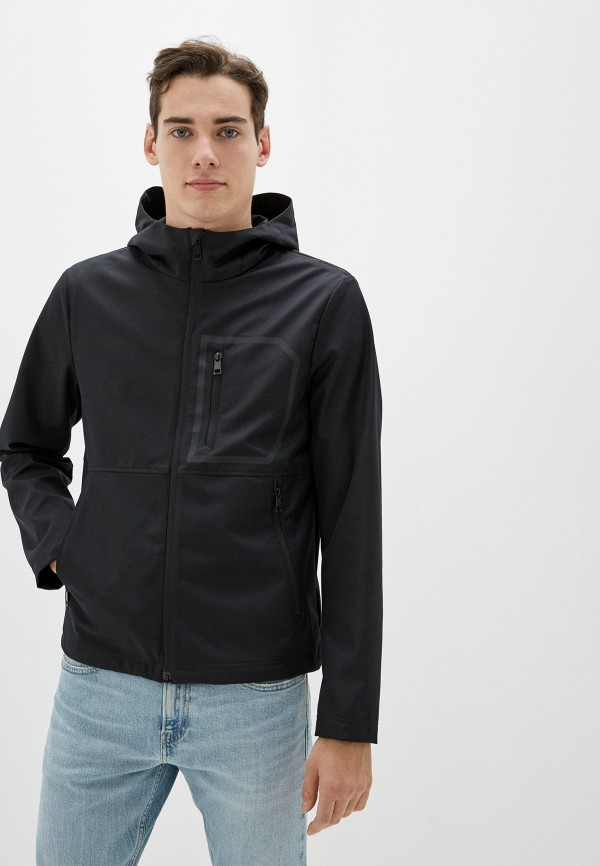 мужская легкие куртка geox, черная