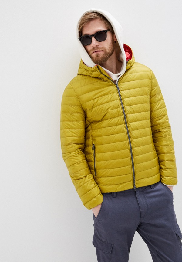 мужская куртка geox, зеленая