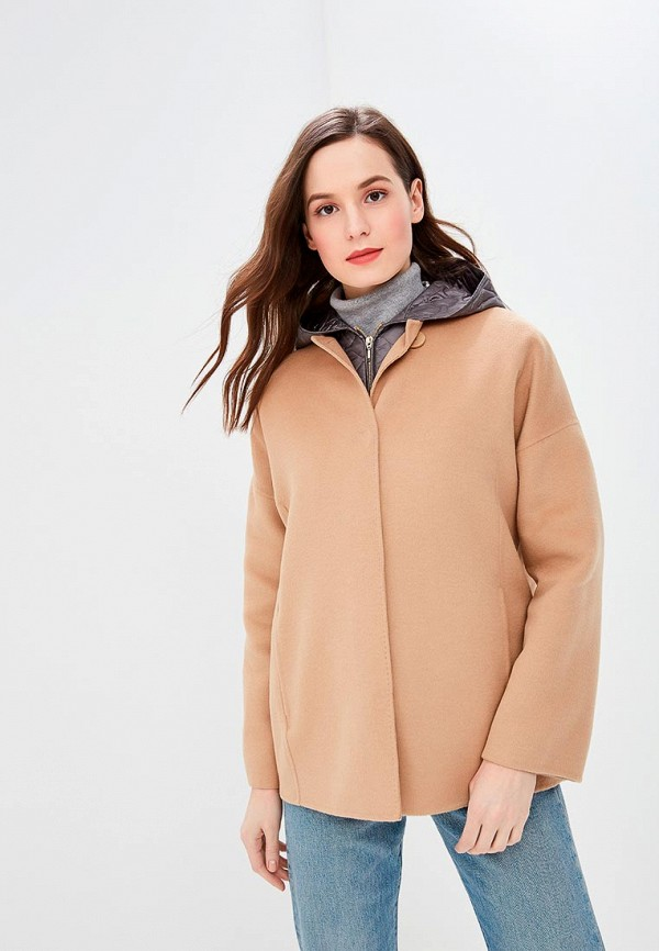 женское пальто geox, разноцветное
