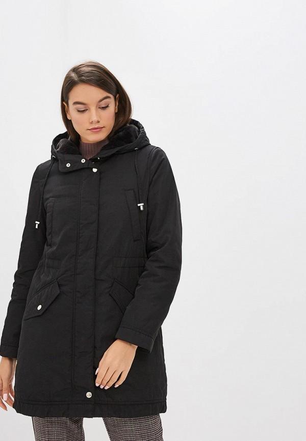 Купить Куртка утепленная Geox, GE347EWBZKP0, черный, Осень-зима 2018/2019