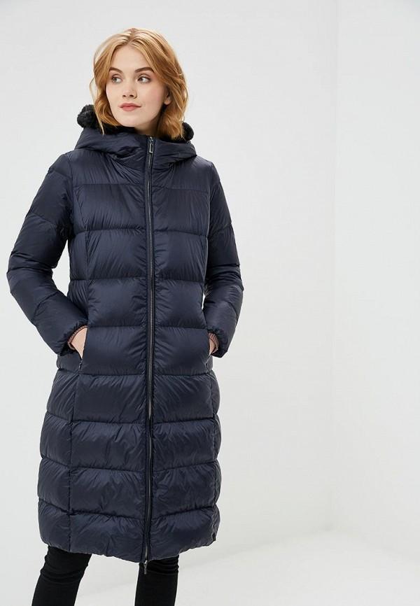 Пуховик Geox, GE347EWBZKR9, синий, Осень-зима 2018/2019  - купить со скидкой