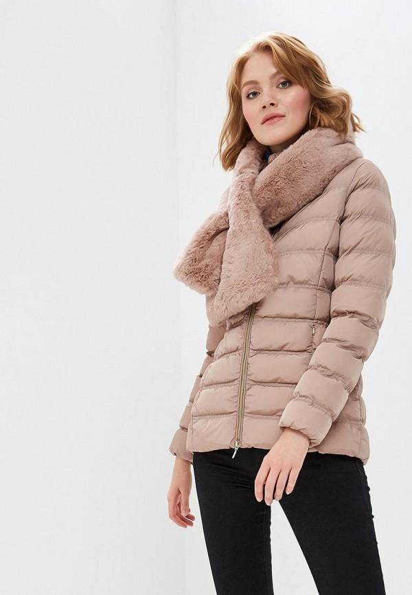Купить Куртка утепленная Geox, GE347EWBZKS8, розовый, Осень-зима 2018/2019