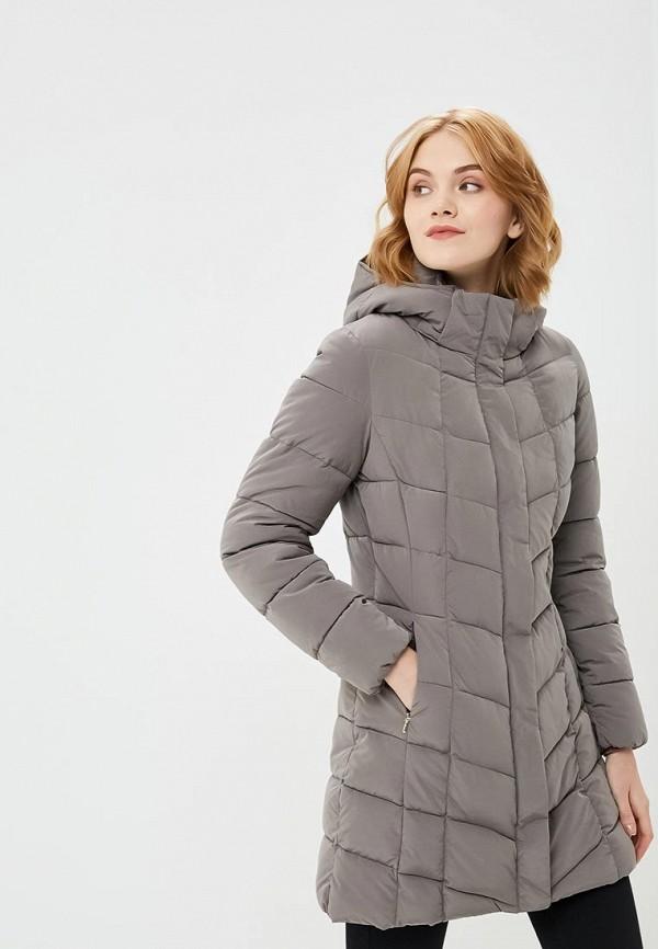 Купить Куртка утепленная Geox, GE347EWBZKT4, серый, Осень-зима 2018/2019