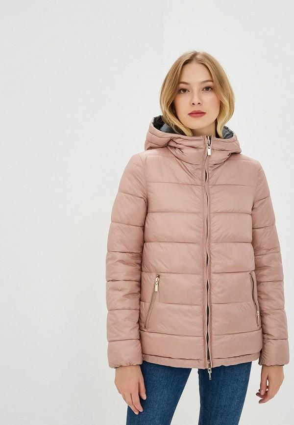 Купить Куртка утепленная Geox, GE347EWBZKT6, розовый, Осень-зима 2018/2019