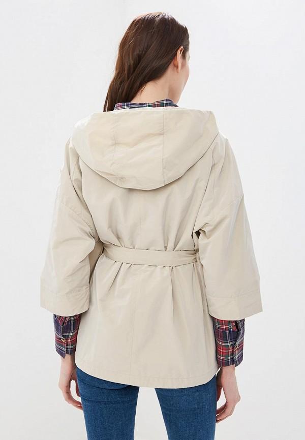 Фото 3 - Куртку Geox бежевого цвета