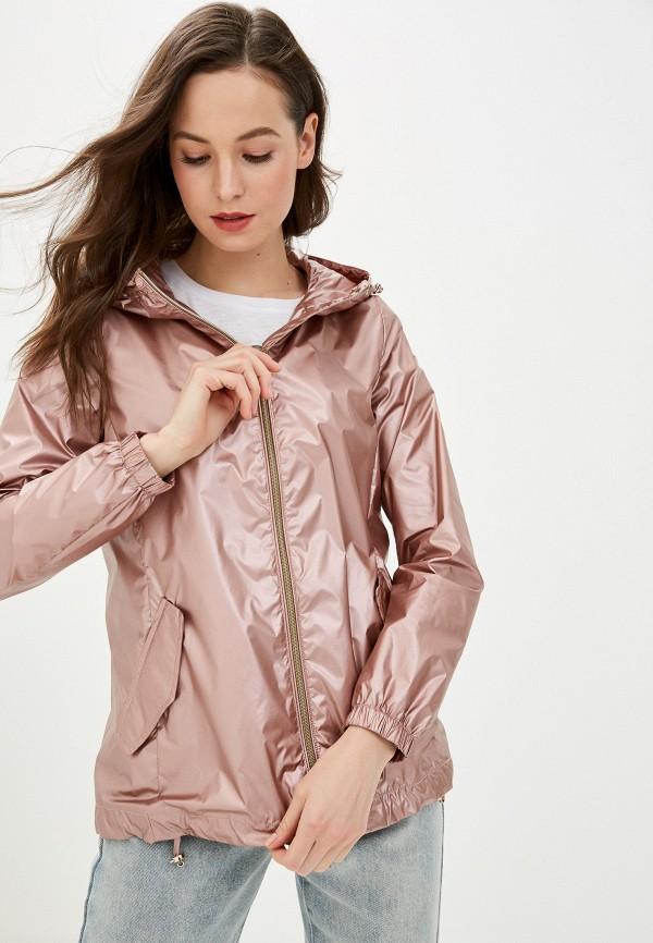 женская легкие куртка geox, розовая