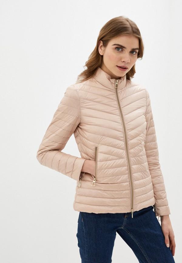 женская куртка geox, бежевая