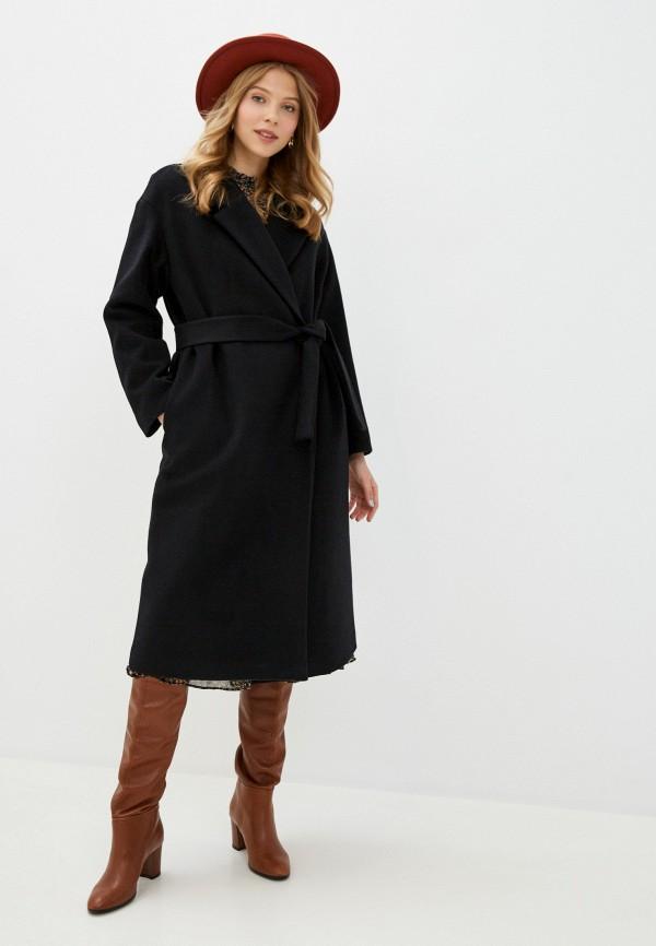 женское пальто geox, черное