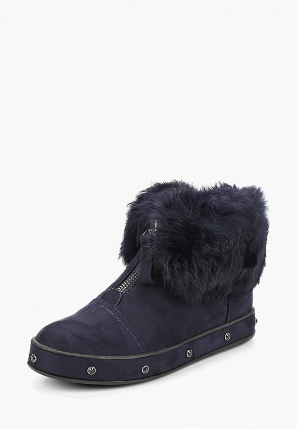 женские ботинки gene, синие