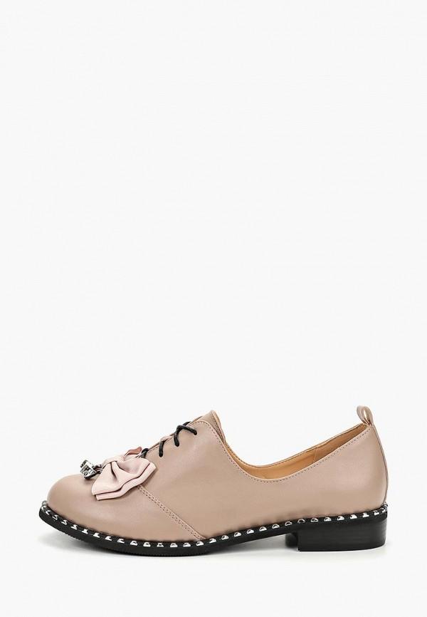 женские ботинки gene, бежевые