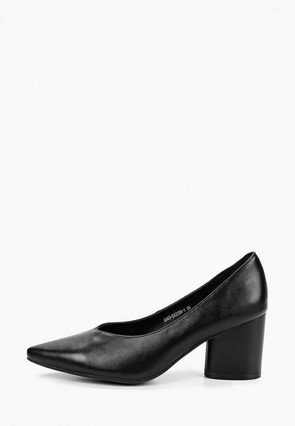 женские туфли gene, черные