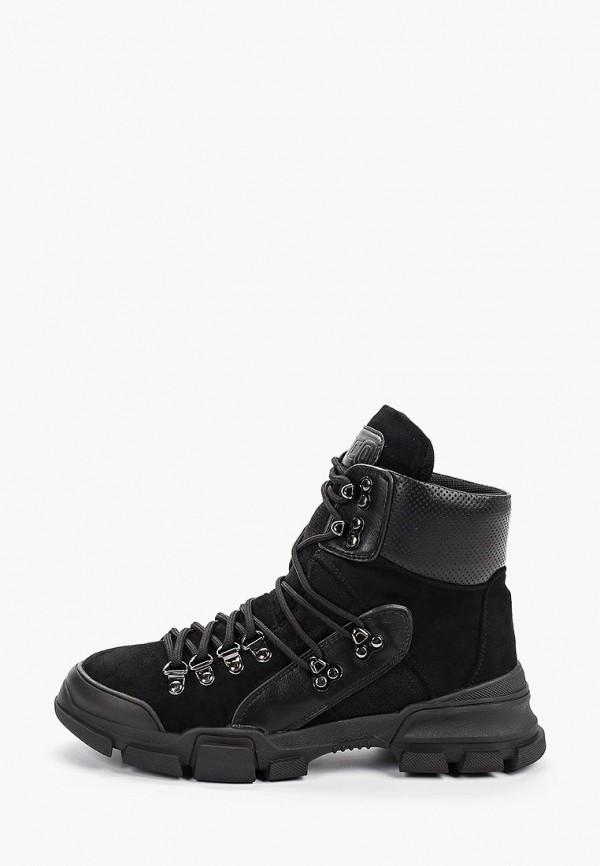 Фото - женские ботинки и полуботинки Gene черного цвета