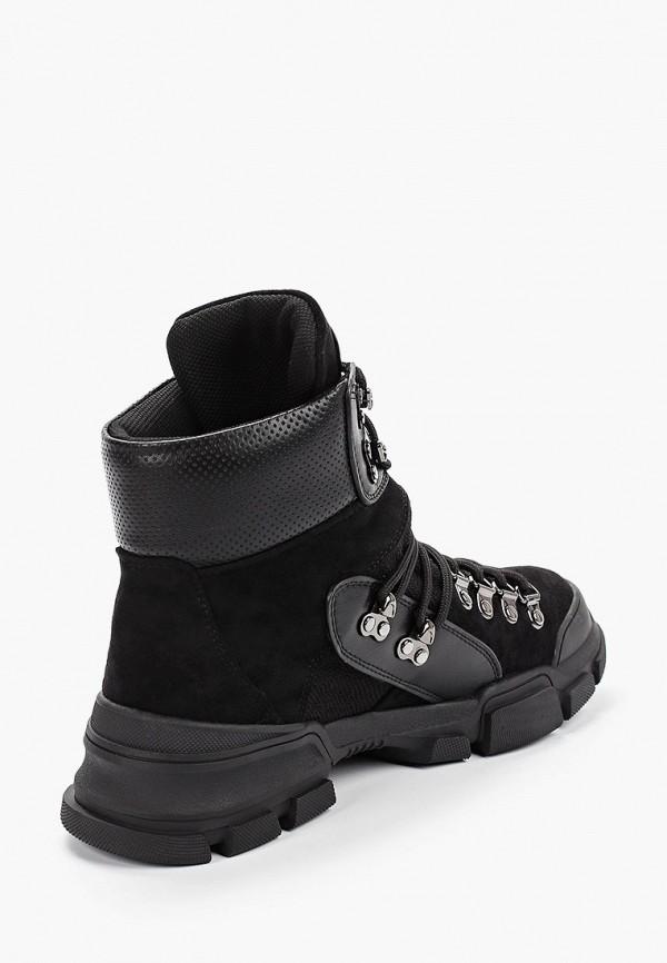 Фото 3 - женские ботинки и полуботинки Gene черного цвета